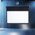 Blackline Electric Screen – Projektorduk