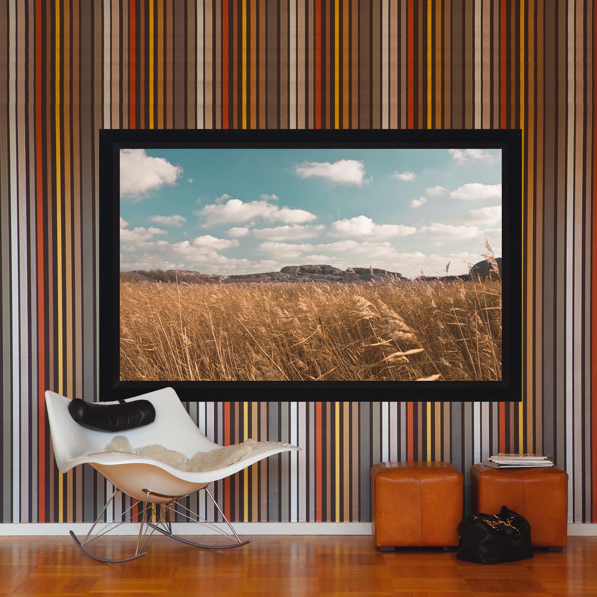 Ramspänd projektorduk för Short Throw projektorer, härlig miljöbild, från Kingpin Screens